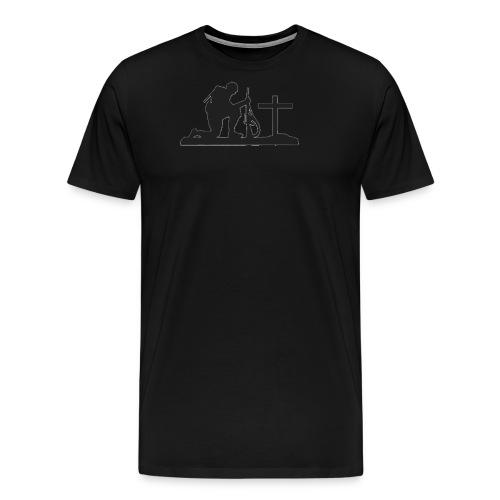 gone but not forgotten - Men's Premium T-Shirt