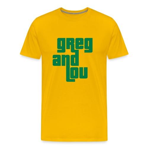greg and lou title - Men's Premium T-Shirt