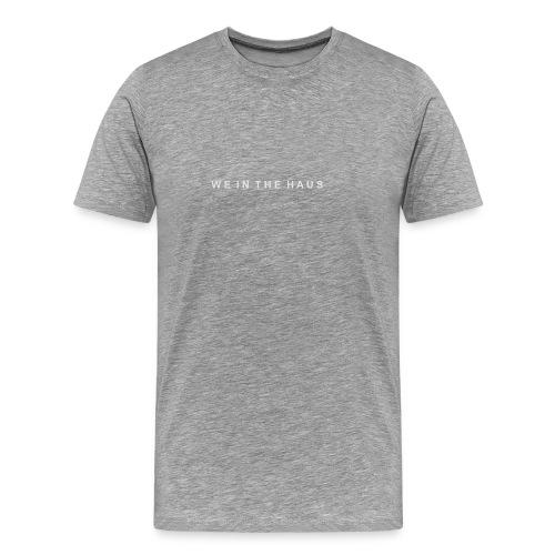 We In The Haus Logo - Men's Premium T-Shirt