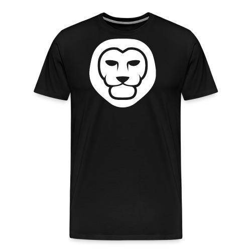 IndieLion Logo white png - Men's Premium T-Shirt