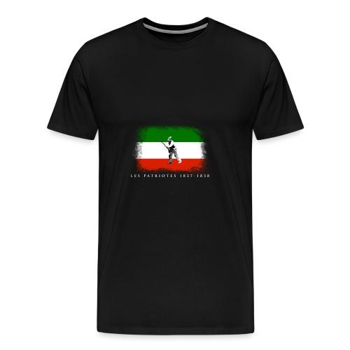 Patriote 1837 1838 - T-shirt premium pour hommes