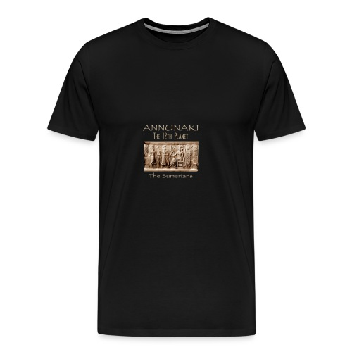 Annunaki 12th planet - Men's Premium T-Shirt