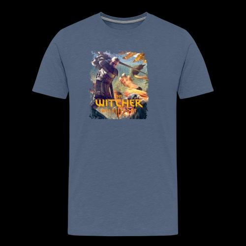 The Witcher 3 - Griffin - Men's Premium T-Shirt