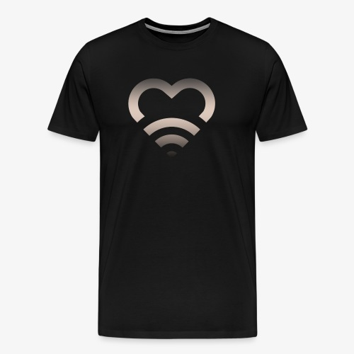 I Heart Wifi IPhone Case - Men's Premium T-Shirt