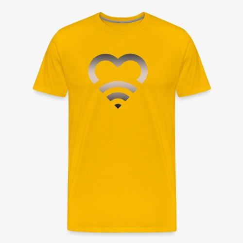 I Heart Wifi IPhone Case - Men's Premium T-Shirt