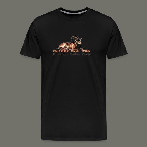Ethiopian Yellow Pages T-shirt - Men's Premium T-Shirt