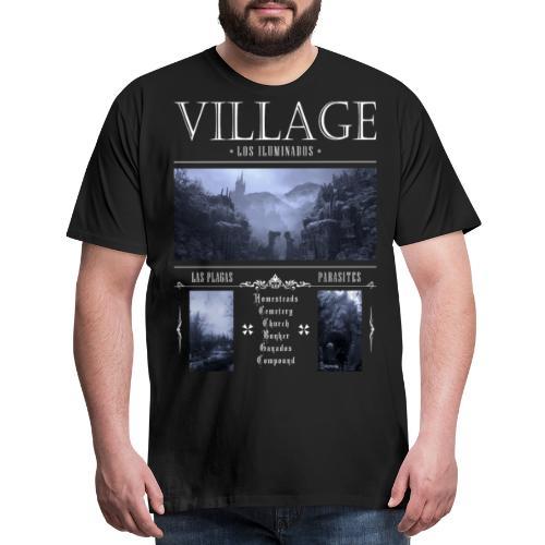 Los Iluminados Village 2 - Men's Premium T-Shirt