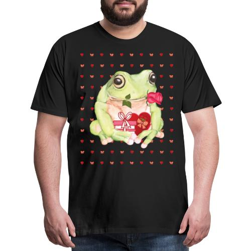 Frogs Valentine's Day Gifts Idea - Men's Premium T-Shirt