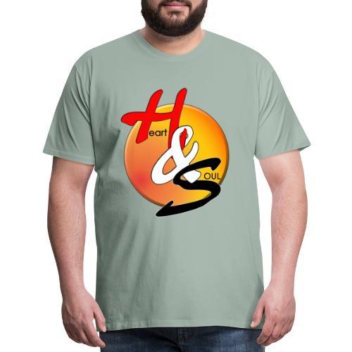Rcahas logo gold - Men's Premium T-Shirt