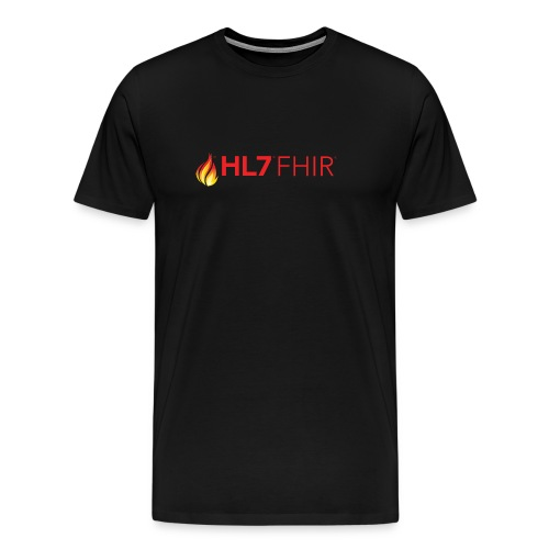 HL7 FHIR Logo - Men's Premium T-Shirt