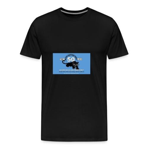 50th Anniversary Carolina Blue - Men's Premium T-Shirt