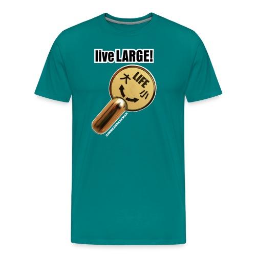 flusher - Men's Premium T-Shirt