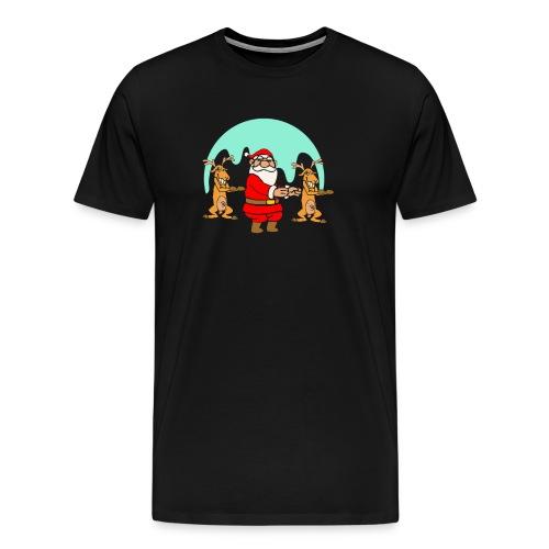 The Dance Of Santa Claus Merry Christmas - Men's Premium T-Shirt