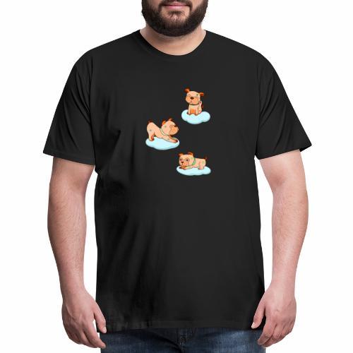 little pugs - Men's Premium T-Shirt
