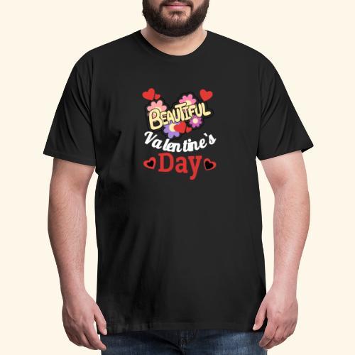 T-shirt for Valentine's Day - Men's Premium T-Shirt