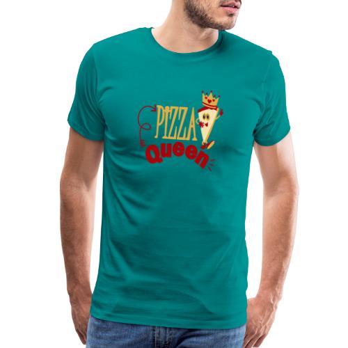 Pizza Queen - Men's Premium T-Shirt