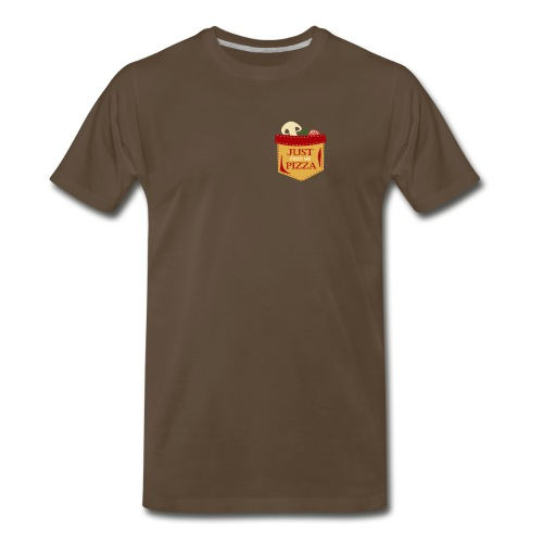 Just feed me pizza - Men's Premium T-Shirt