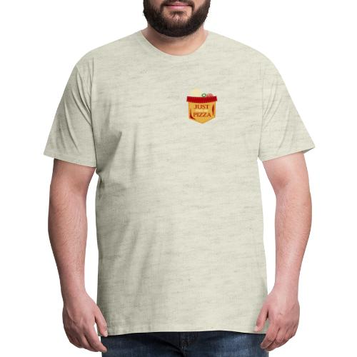 Just feed me pizza - Men's Premium T-Shirt