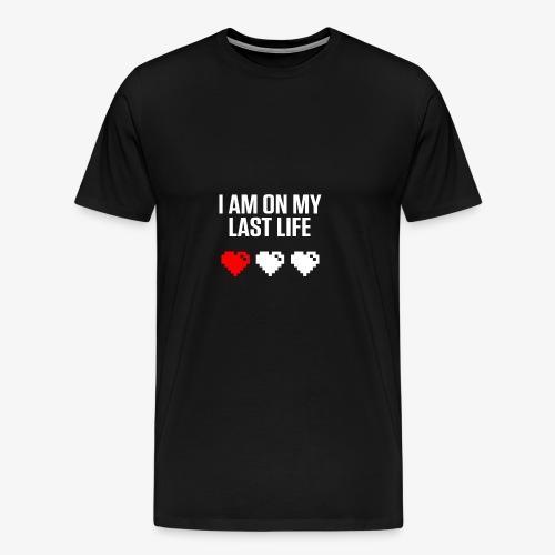 Last Life - Dark - Men's Premium T-Shirt