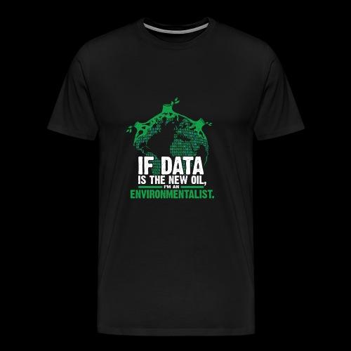 Data Environmentalist - Men's Premium T-Shirt