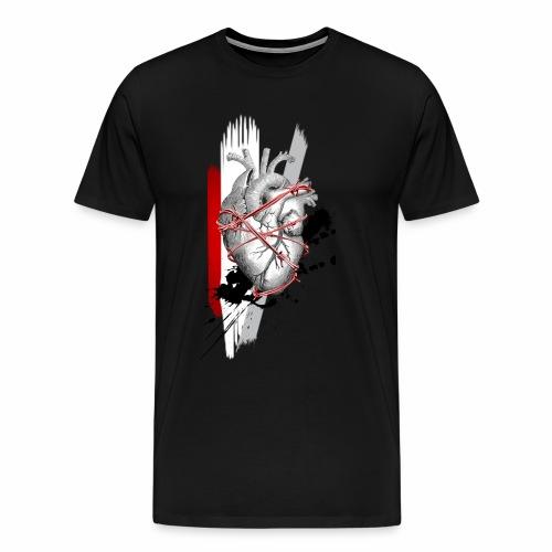 Heart Attack - Men's Premium T-Shirt