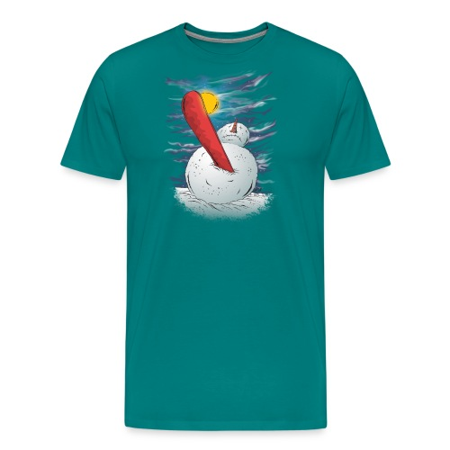 the accident - Men's Premium T-Shirt