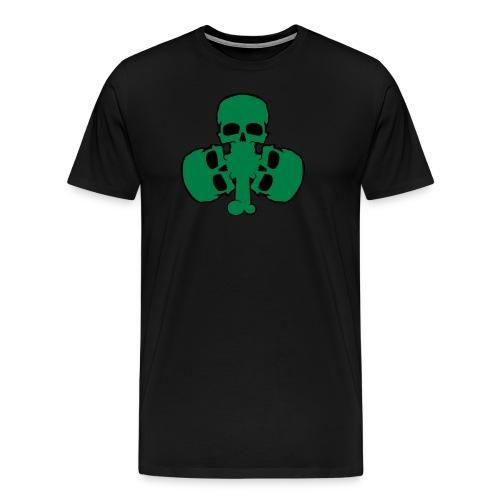 skull_shamrock - Men's Premium T-Shirt
