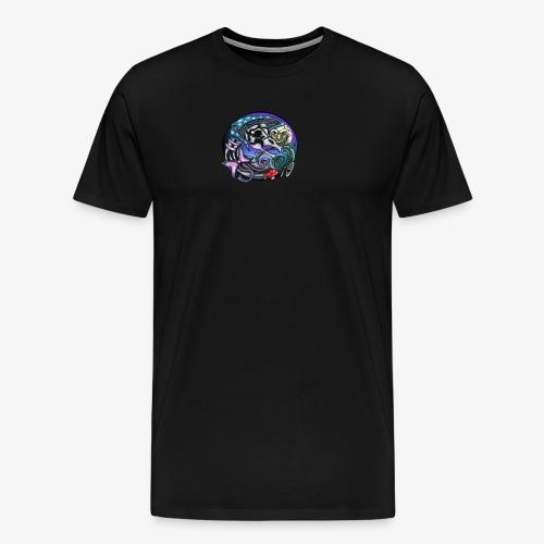 Mother CreepyPasta Nursery Rhyme Circle Design - Men's Premium T-Shirt