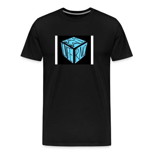 baseball inferno 1 - Men's Premium T-Shirt