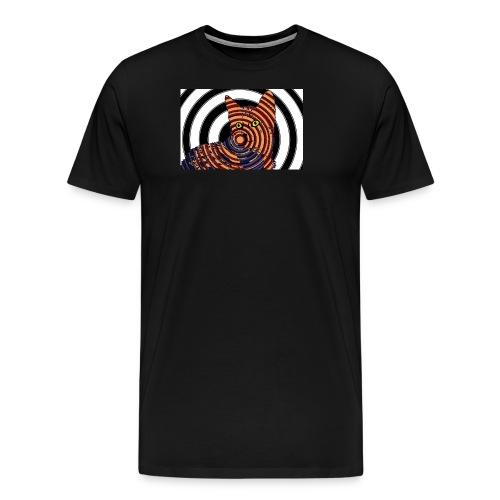 Cat Spiral - Men's Premium T-Shirt