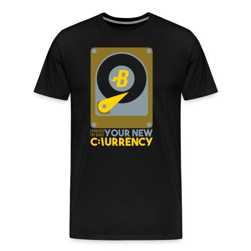 BURST coin t-shirt - Men's Premium T-Shirt