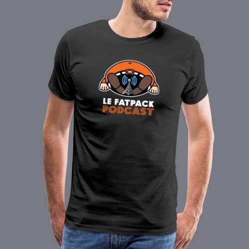 TB (1 logo) - T-shirt premium pour hommes