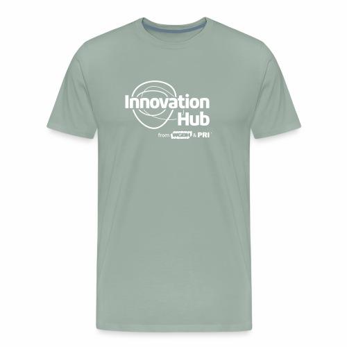 Innovation Hub white logo - Men's Premium T-Shirt
