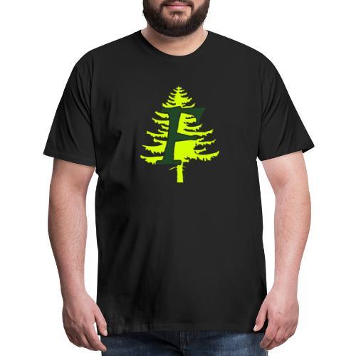 Ffynnon simple logo - Men's Premium T-Shirt