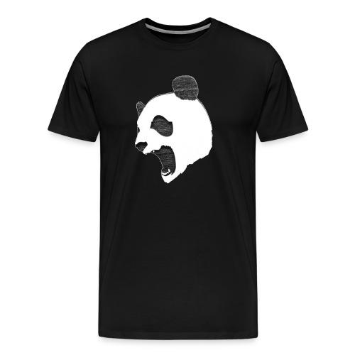 Fierce Panda Crewneck - Men's Premium T-Shirt