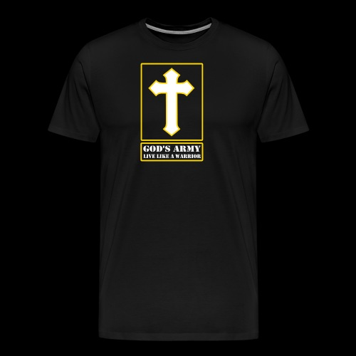 God's Army Live Like A Warrior - Men's Premium T-Shirt