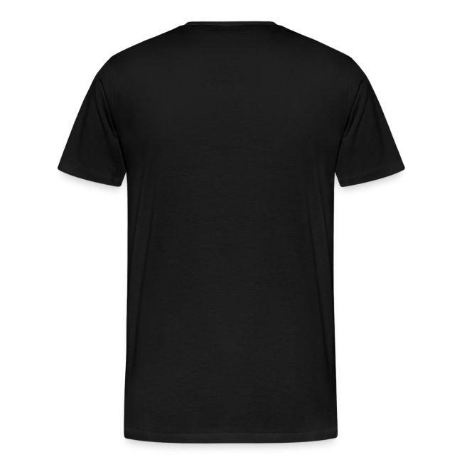 tshirt white on black png