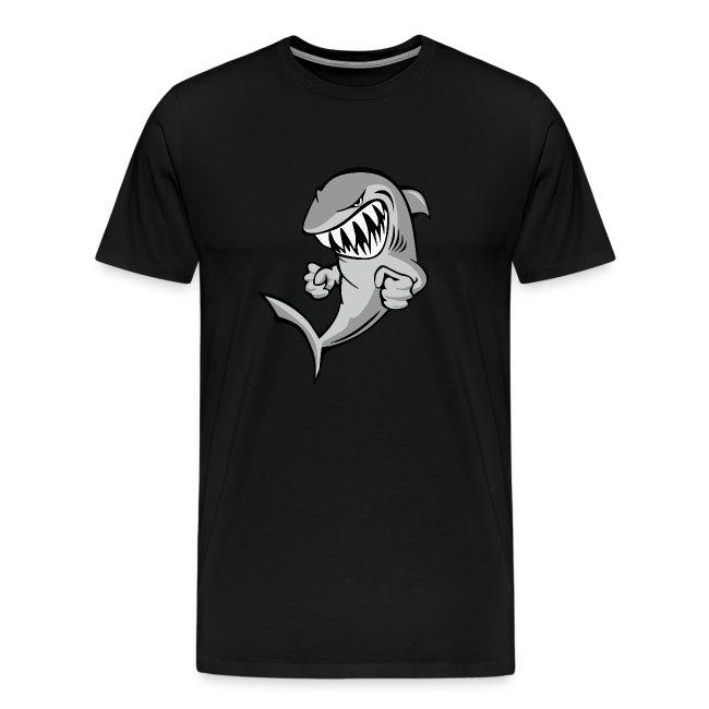 Shark With Attitude Cartoon