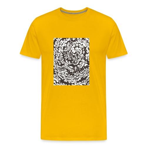 Serpent Swells - Womens Standard - Men's Premium T-Shirt