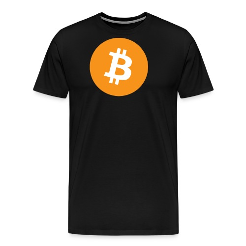 Bitcoin Logo - Men's Premium T-Shirt