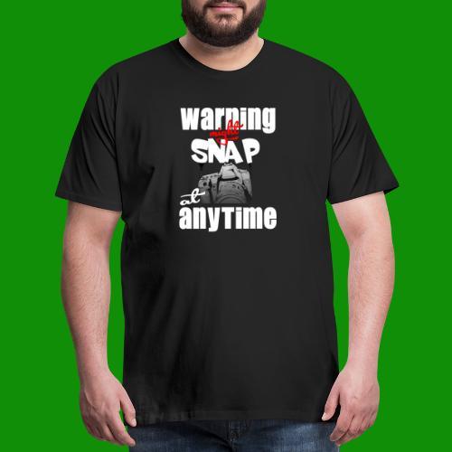 Might Snap Photography - Men's Premium T-Shirt