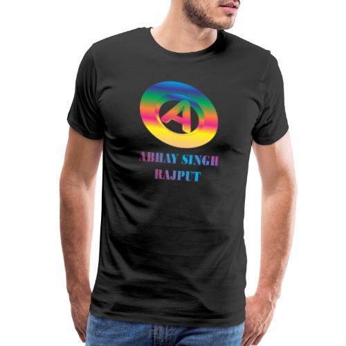 abhay - Men's Premium T-Shirt