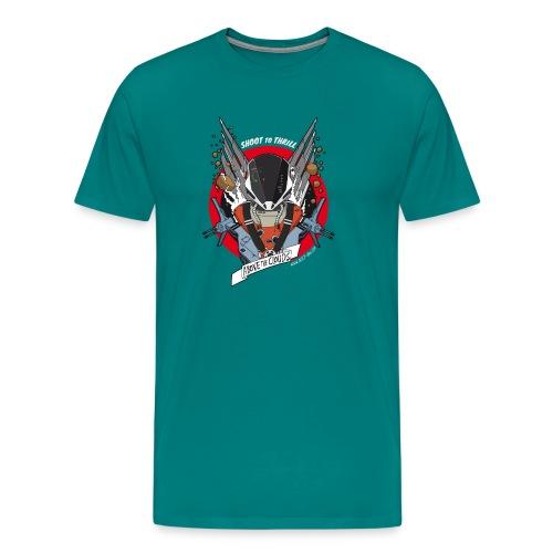 Space fighter color - Men's Premium T-Shirt