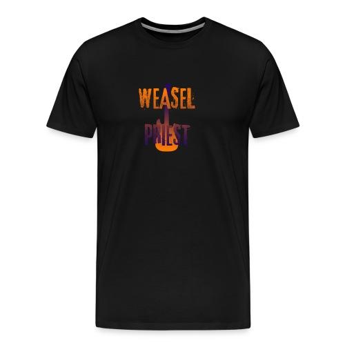 Weasel Priest Gradient Design - Men's Premium T-Shirt