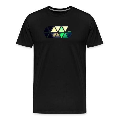 Lagg slide color - Men's Premium T-Shirt
