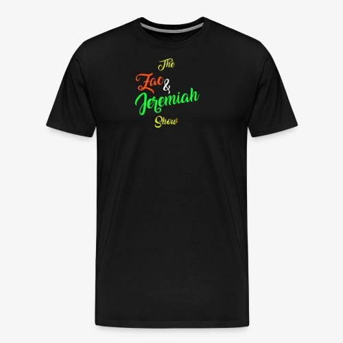 The Zac & Jeremiah Show In-House Logo - Men's Premium T-Shirt