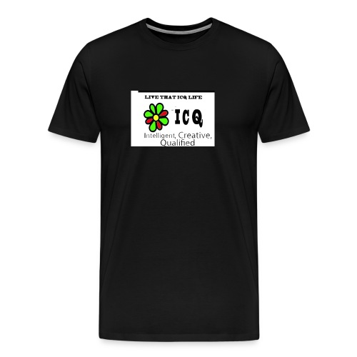 bunk new ICQ edited 33 - Men's Premium T-Shirt