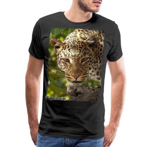 Leopard Stare - Men's Premium T-Shirt