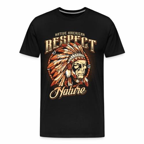 Respect nature - Men's Premium T-Shirt