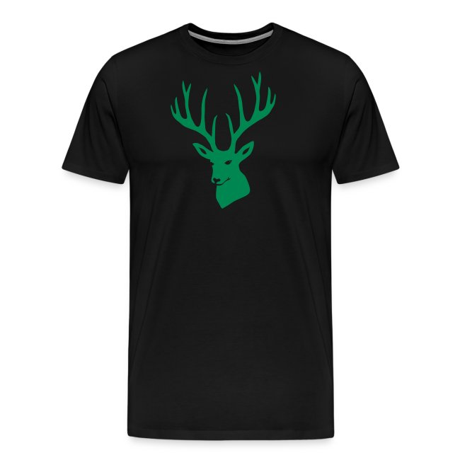 stag night deer buck antler hart cervine elk